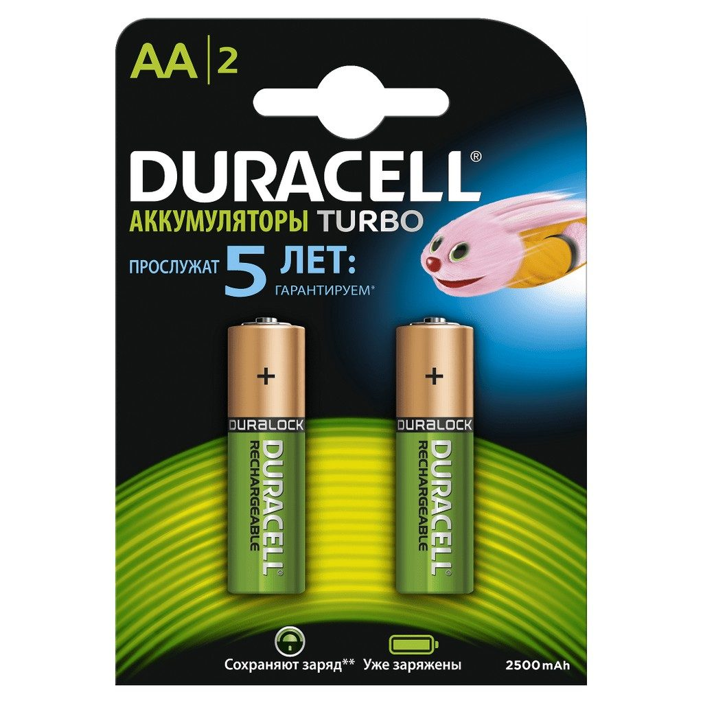 Duracell Recharge Turbo (какие батарейки лучше)