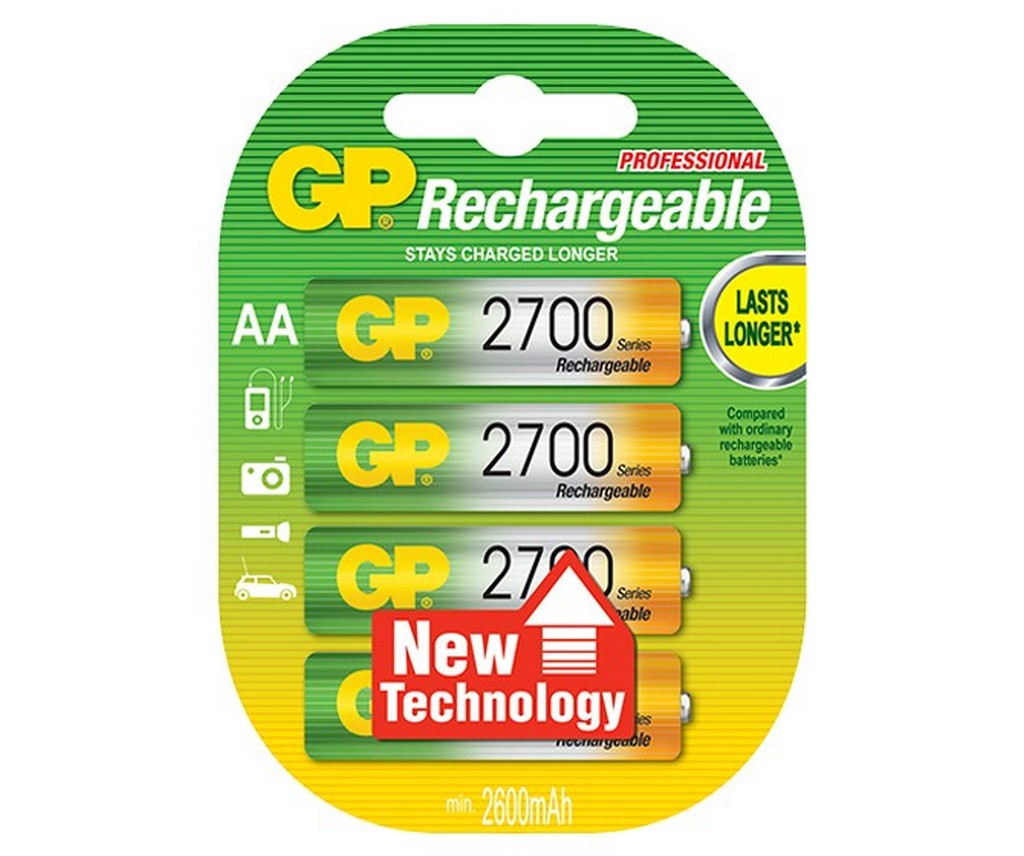 GP Rechargeable (какие батарейки лучше)